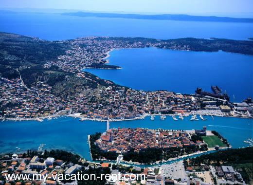 Chorwacja apartamenty z basenem góry rab