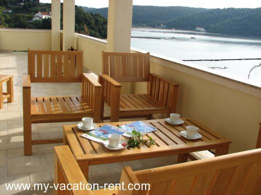 ferienwohnungen villa trlika kampor insel rab kvarner kroatien my vacation. Black Bedroom Furniture Sets. Home Design Ideas