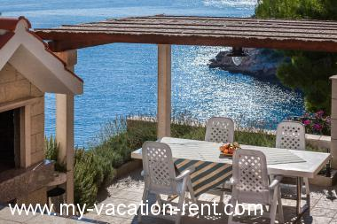 Apartments 4958 Croatia - Dalmatia - Island Brac - Cove Osibova (Milna) - apartment #4176 Picture 5