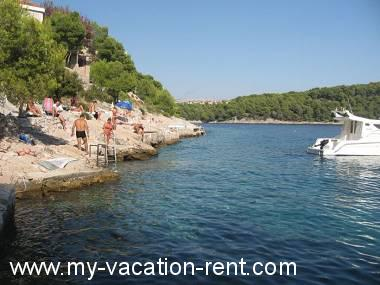 Apartments 4958 Croatia - Dalmatia - Island Brac - Cove Osibova (Milna) - apartment #4176 Picture 9