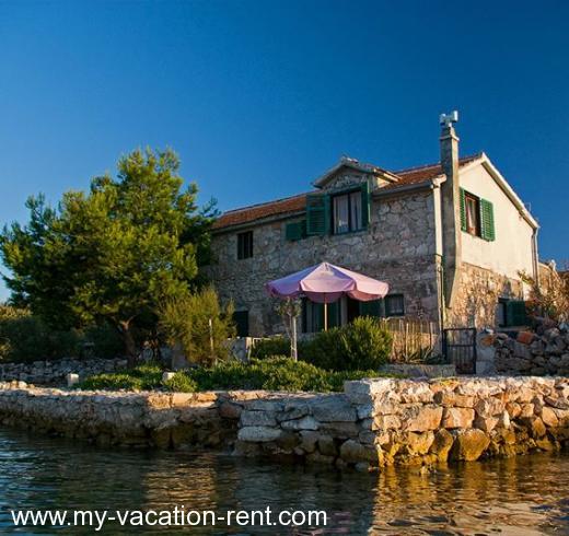 Rent Com Houses: Holiday Home Strunac, Betina, Island Murter, Dalmatia
