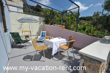 Croatie - La Dalmatie - Île de Hvar - Bojanic Bad - appartement #5870