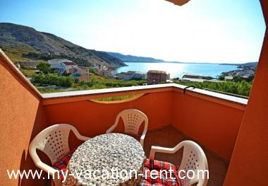 Apartment Metajna Island Pag Kvarner Croatia #6854
