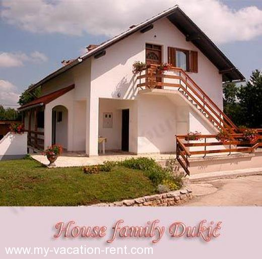 Apartments House Family Dukic Croatia - Central Croatia - Lika - Plitvička jezera - apartment #971 Picture 1